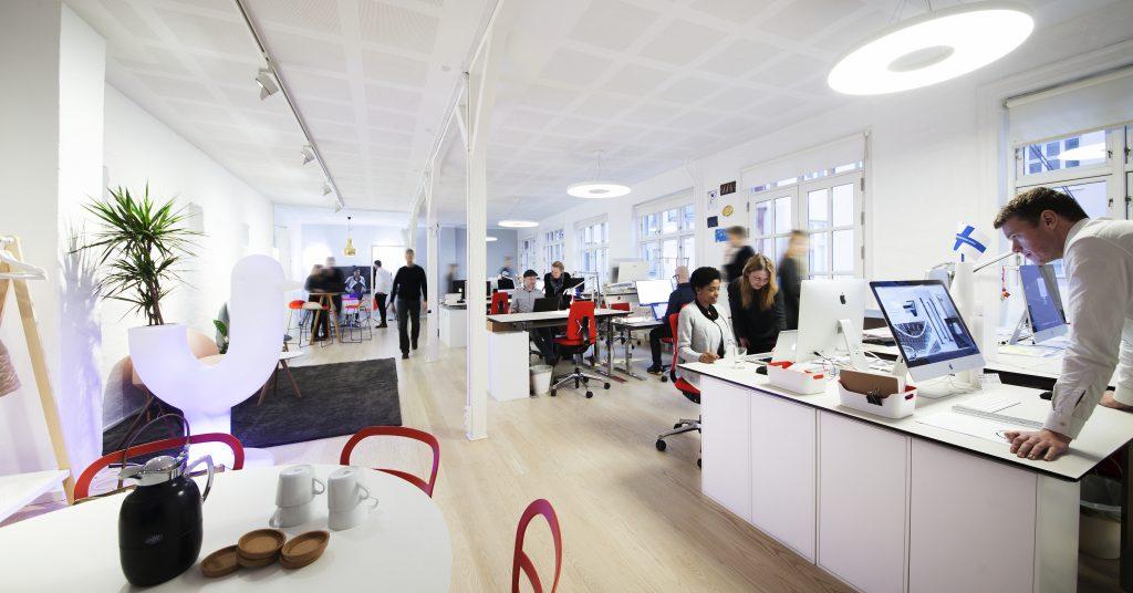 Studio-CPH Co-working Space in the heart of Copenhagen, Østerbro.